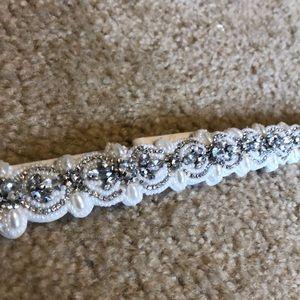 Beautiful beaded belt